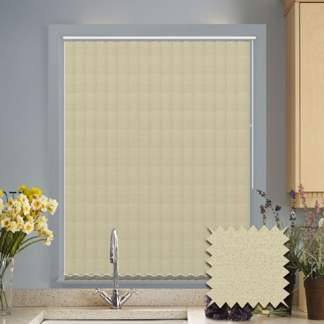 Made to Measure Monroe Opal Vertical Blind
